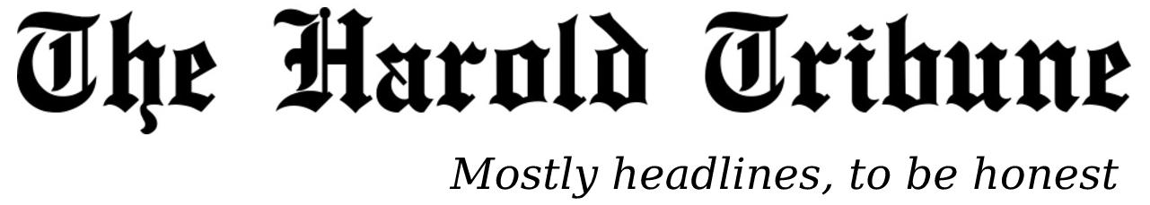 The Harold Tribune